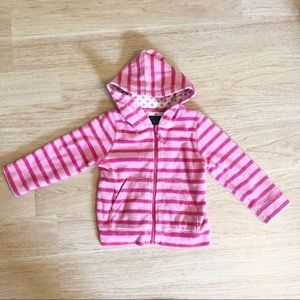 Mini Boden Terrycloth Jacket Size 2-3